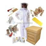2 COMPLETE PACKAGE WITH WHITE SUIT AND ROUND HAT27