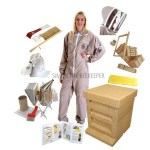 4 COMPLETE PACKAGE WITH LIGHTWEIGHT LATTE SUIT